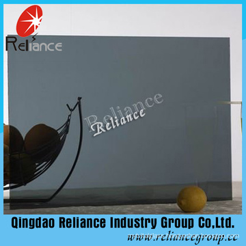 Color Glass /Tinted Euro Grey Dark Grey Float Glass