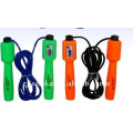 Hot sale samll plastic jump rope with skipping counter pedometer