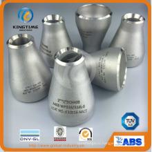 Нержавеющая сталь монтаж бесшовных редуктор с ISO9001: 2008 (KT0288)