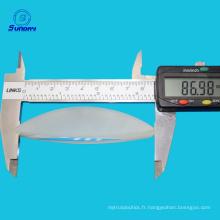 Lentille de projecteur haute puissance et lentille de contact de grand diamètre