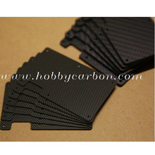 Hoja de fibra de carbono de máquina CNC profesional