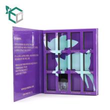 Картонная книга в форме Рождественская книга Коробка тени для век порошок подарков