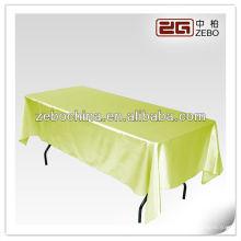Heißer Verkaufentwurf direktes Fabrik hergestelltes Großhandelsgewohnheit Rechteck-Funkeln-Tischtuch
