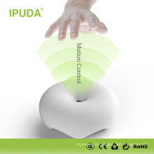2016 alibaba China supplier IPUDA dimmable wall lamp for hotel with 2.4A USB charging ports
