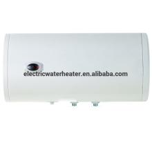 Calefator de chuveiro horizontal redondo do teto do banheiro com temperatura