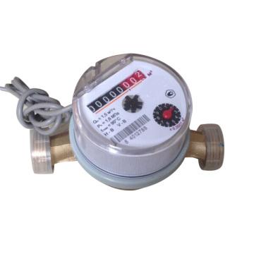 Однотрубный мини-счетчик воды с импульсным выходом