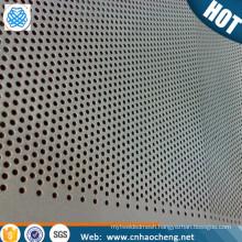 Factory price niobium perforated metal plate sheet