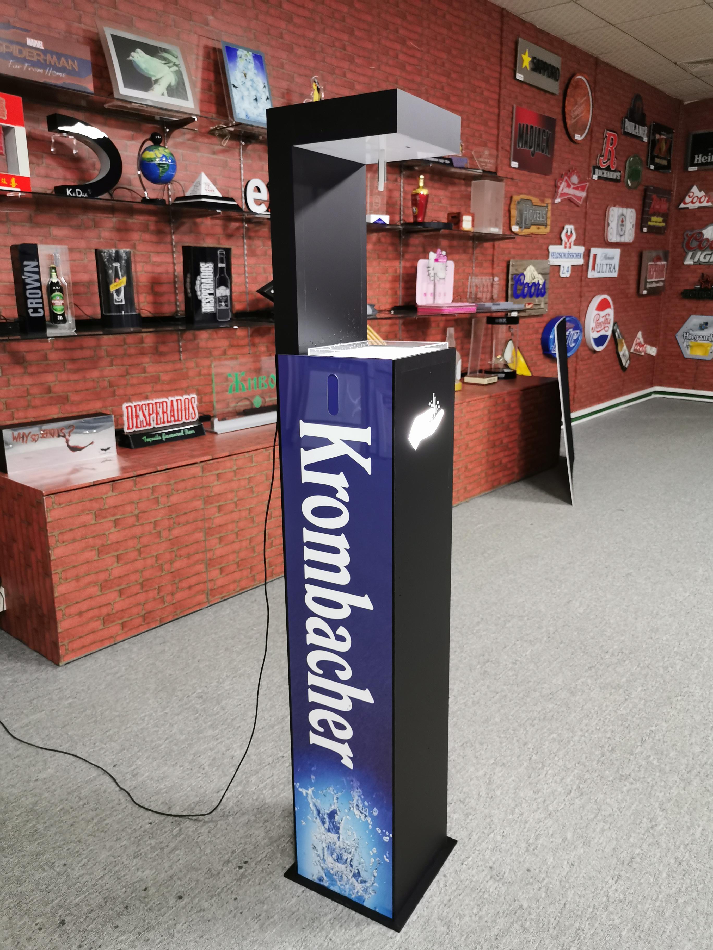 floor sanitizer dispenser stand