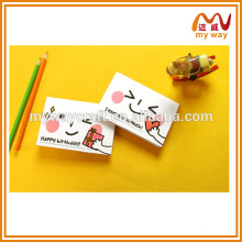 Korean stationery of cute cartoon 3d pop up card,children's day greeting card