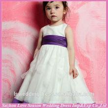 HF6001 meninas bonitas vestem para casar com cinturão flor menina vestir padrões grátis