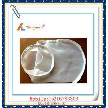 Nylon malha saco de filtro com cordão / aço inoxidável / plástico
