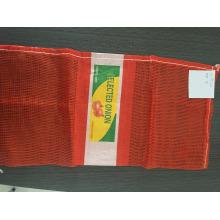 Empaquetado de alimentos bolso de malla bolso de cebolla hecho en china