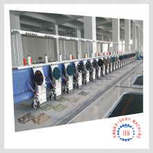 High Speed japan rotary computer controlled embroidery machine 24head