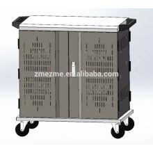 ZMEZME 36 Porto USB hub laptop sincronização carrinho de carga e carrinho de carregador de bateria