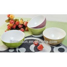 KC-04009 grandes tazones de mezcla de cerámica, tazón de cerámica de arroz / sopa