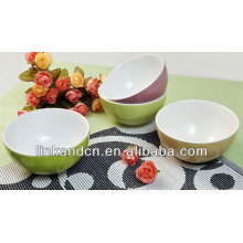 KC-04009 de grands bols en céramique, bol de riz / soupe en céramique