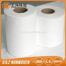 limpezas não tecidas Spunlace do spunlace, Rolls não tecido