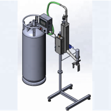 Willman liquid nitrogen injection machine for PET bottles