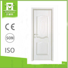 Golden supplier MDF panel interior melamine wooden door for sale