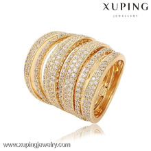 13748-Xuping Sets Jewelry New Diamond 4 PCS Anillos para Boda