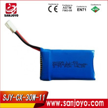 Original 3.7V 700Mah Battery For Cheerson CX-30W Quadcopter Spare Parts Lipo Battery