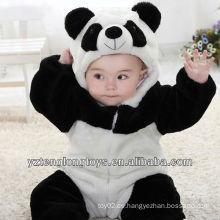 Necesidad del invierno Mameluco promocional del bebé de la panda de la felpa