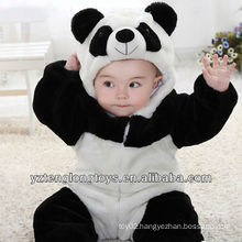 Winter Necessity Promotional Plush Panda Baby Romper