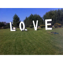 Wedding Decorative Metal Letters Love Sign