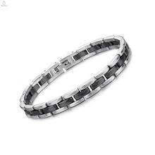 2018 joyería de moda nuevo producto pulsera de acero inoxidable de cerámica