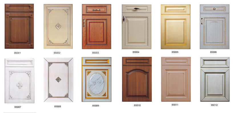 pvc vinyl wrap kitchen cabinet door china