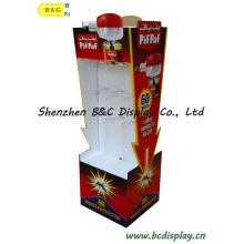 Дисплей картона, рифленый Дисплей, Бумажная стойка дисплея, Дисплей пола картона, Дисплей POS крюк, pegboard дисплея (B и C-B026)