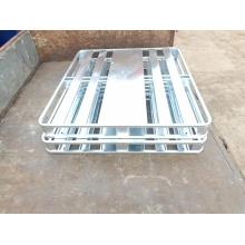 Palet de acero de metal galvanizado
