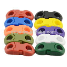 """Small colored 1/4""""( 6.5 mm ) paracord plastic buckle mix wholesale alibaba"""