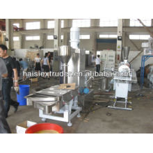 biodegradable PE+starch plastic granule extruder