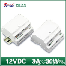 Din rel Power Supply 12VDC 36W 60W