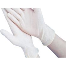 Gants d'examen jetables en latex de qualité médicale