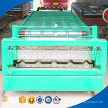 Fast speed building material roof sheet double roll forming machine