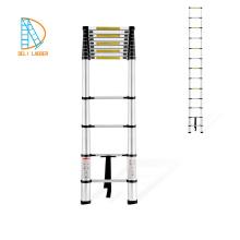 3.2m Leiter Aluminium Teleskopleiter, Metallleiter, Klappleiter aus Bambus