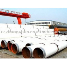 3PE Coating ERW Steel Pipe / SSAW / MEAMPLANT LA MEILLEURE QUALITÉ EN STOCK CANGZHOU