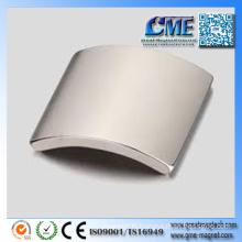 Curved Neodymium Magnet for Permanent Magnet Generator