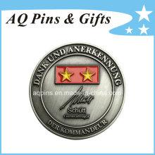 Moneda de plata antigua del desafío de la alta calidad con el esmalte (coin-088)