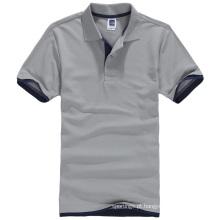 Camisa do polo dos homens 2017 do fabricante do oem lisa