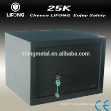 Simple coffre-fort mécanique avec clé unique