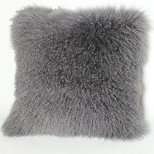 Curly Lamb Sheepskin Pillow