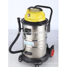 Aspirador industrial húmido e seco com soquete externo BJ123-50L com função de sopro