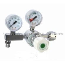 Medical Gauge Flow Oxygen Regulator for Large O2 Tanks