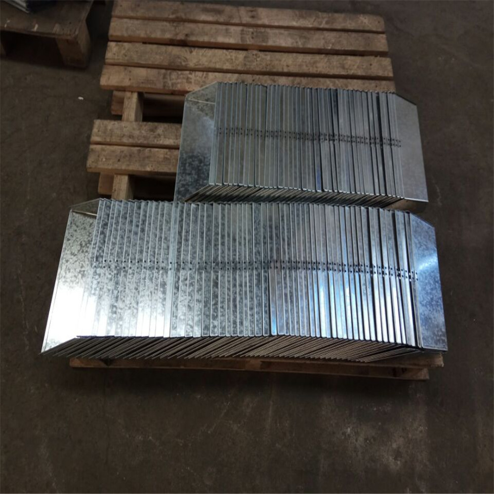 Galvanized Steel Box Laser Cutting Service