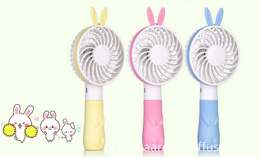 rabbit mini fan