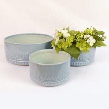 Classical ceramic bonsai flowerpot
