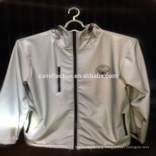 high light reflective fabric/ light reflecting material/reflecting vest for bike